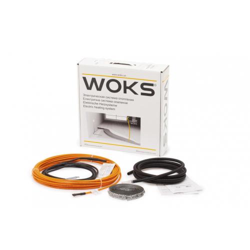 Нагревательный кабель Woks-10 (под плитку)