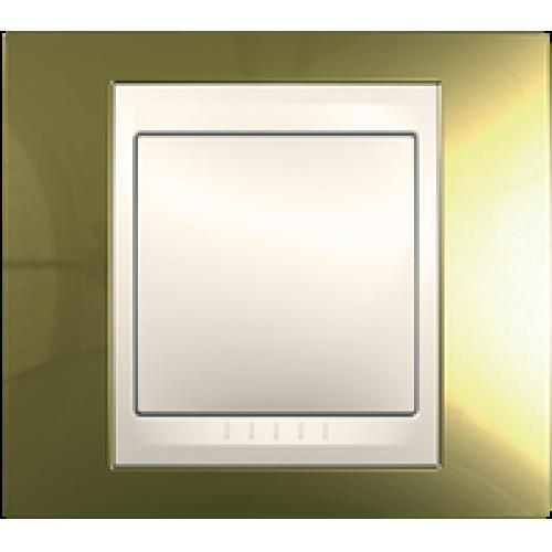 Рамки Unica Top - Золото/Слоновая кость