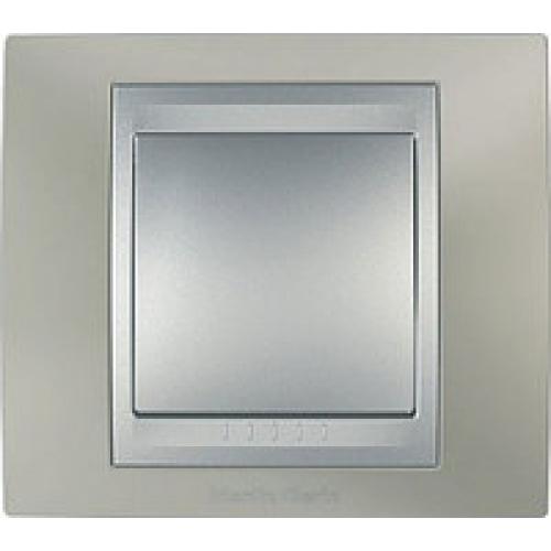 Рамки Unica Top -  Титановый/Алюминий