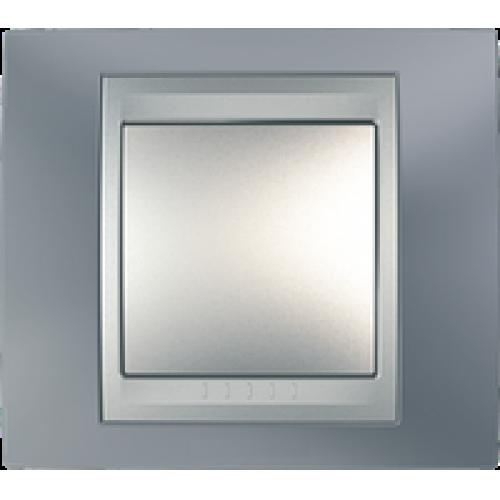 Рамки Unica Top - Металлик/Алюминий