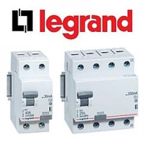 Устройства защитного отключения (УЗО) Legrand RX³9
