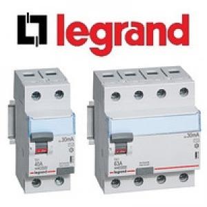 Устройства защитного отключения (УЗО) Legrand TX³