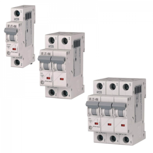 Автоматические выключатели HL 4,5 kA. хар-ка С