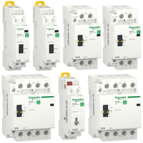 Контакторы и импульсные реле Schneider RESI9