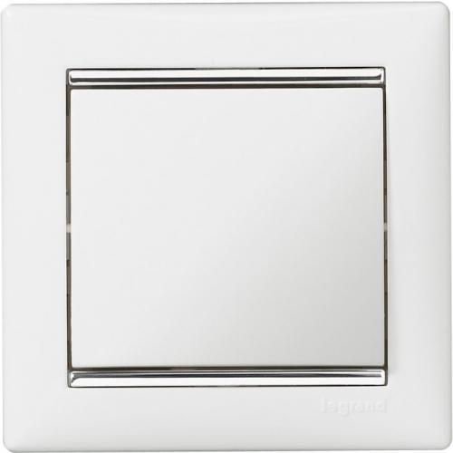 Рамки Legrand Valena (белый/серебряный штрих)