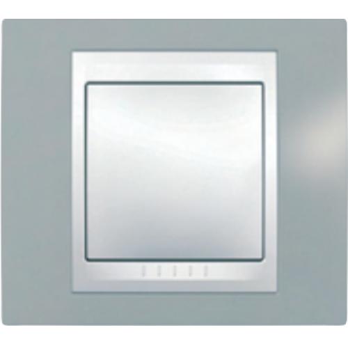 Рамки Unica Plus Туманно-серый/Белый
