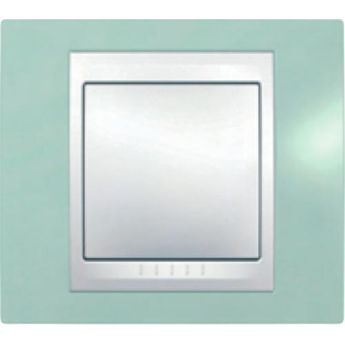 Рамки Unica Plus Морская волна/Белый
