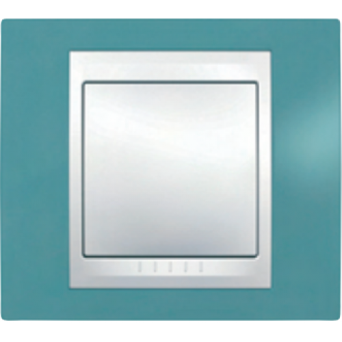 Рамки Unica Plus Синий/Белый