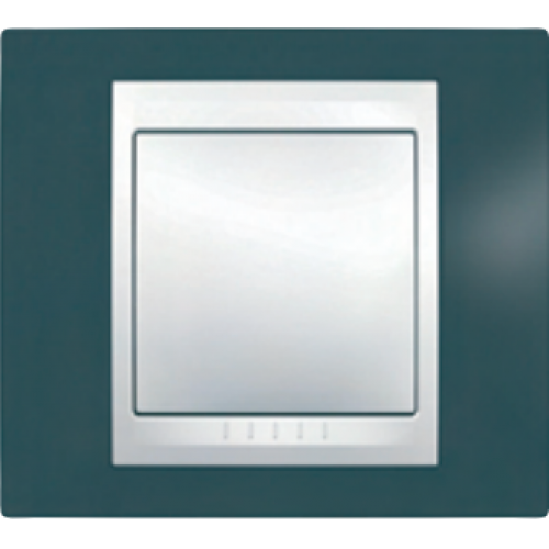 Рамки Unica Plus Серо-зеленый/Белый