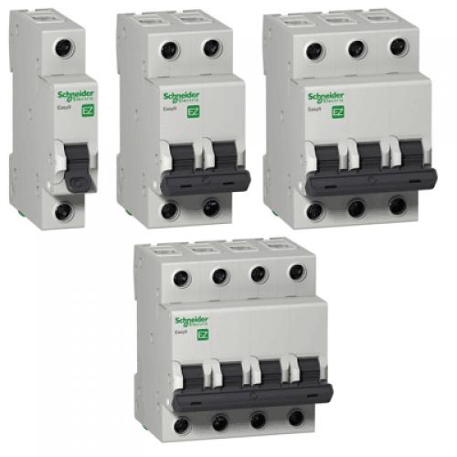 Автоматические выключатели Yeasy 9