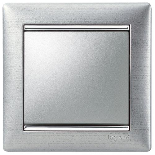 Рамки Legrand Valena (алюминий матовый)