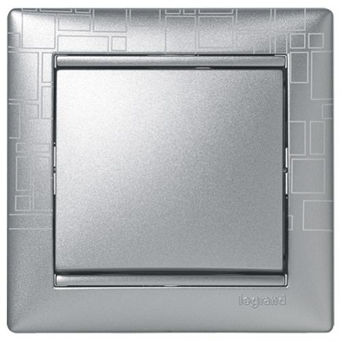 Рамки Legrand Valena (алюминий модерн)