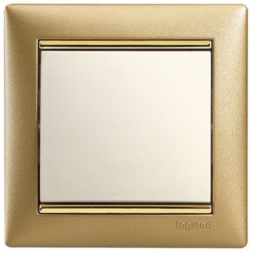 Рамки Legrand Valena (матовое золото)