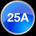 25 ампер