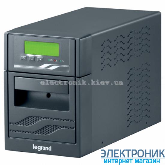 Источник бесперебойного питания legrand niky s, 2000ва, 1200вт, 12в/7ач, 4 батареи, разъёмы мэк (iec), usb-rs232