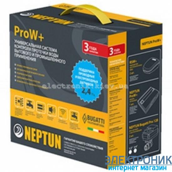 "НЕПТУН (NEPTUN BUGATTI) PRO W+2014 3/4"". Беспроводная система контроля протечки воды."