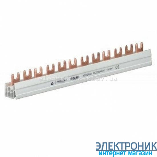 Шина вилочная 2-полюсная на 12 модулей Hager KDN263A