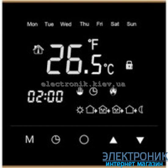Программируемый терморегулятор для теплого пола WARM LIFE