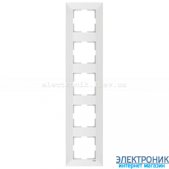VIKO MERIDIAN БЕЛЫЙ Рамка 5-я вертикальная