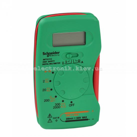 Мультимитр цифровой компактный, Schneider Electric