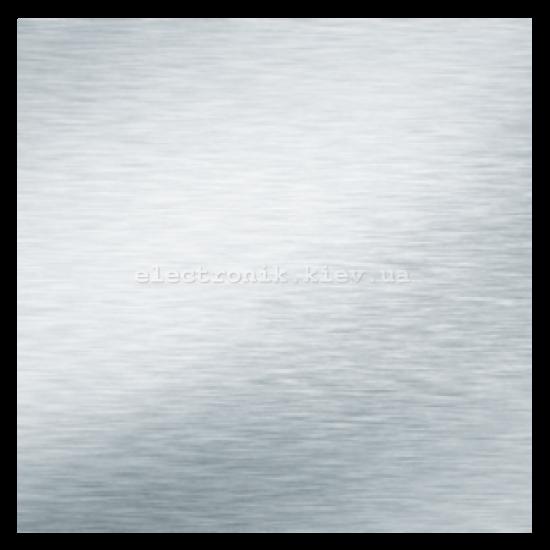 Накладка декоративная металическая для вентиляторов ВЕНСТ ФП 180 Плейн алюмат
