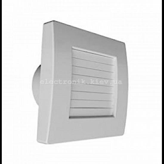 Вытяжной вентилятор QUANTUM QA ∅100 BB (с автоматическими жалюзями)