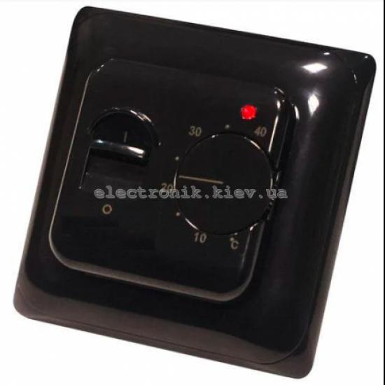 Терморегулятор для теплого пола IN-TERM RTC-70 черный