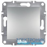 Переключатель Schneider (Шнайдер) Asfora Plus 1-клавишный проходной алюминий