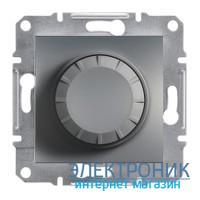 Диммер Schneider (Шнайдер) Asfora Plus поворотный 20-315 Вт сталь