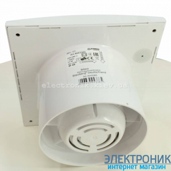 BLAUBERG SILEO 150 Т - вытяжной бесшумный вентилятор с таймером
