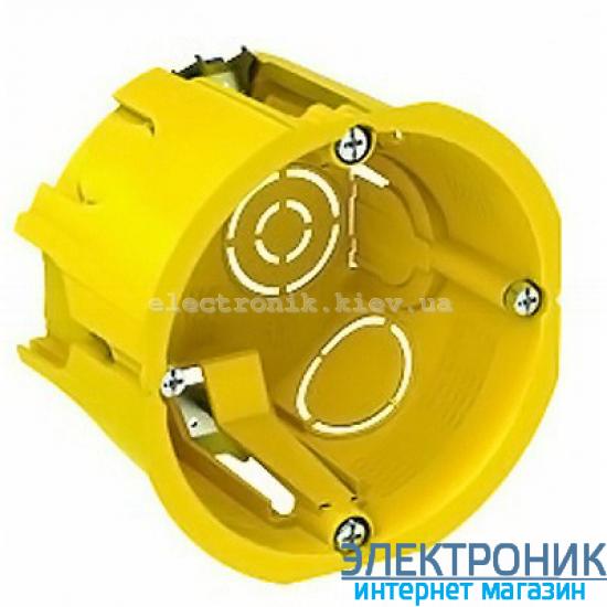 Коробка Schneider-Electric монтажная (подрозетник) для гипсокартона 65Х45