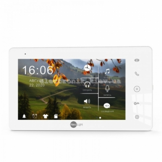 Цветной видеодомофон NeoLight Sigma+ HD WF