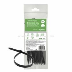Стяжка кабельная 200 мм х 3.6 мм, черный, Schneider Electric