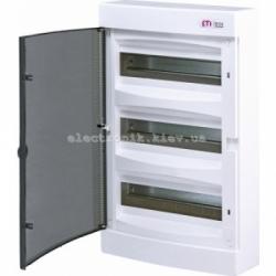 Щит наружный распределительный ECT 36PT 36 модулей (прозрачная дверь) IP-40 ETI