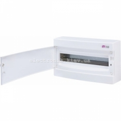 Щит наружный распределительный ECT 18PO 18 модулей (белая дверь) IP-40 ETI