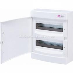 Щит наружный распределительный ECT 24PO 24 модуля (белая дверь) IP-40 ETI