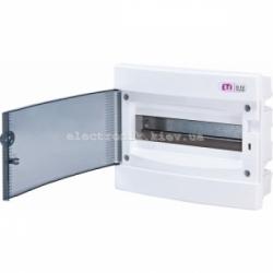 Щит внутренний распределительный ECM 12PT 12 модулей (прозрачная дверь) IP-40 ETI
