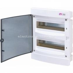 Щит внутренний распределительный ECM 24PT 24 модуля (прозрачная дверь) IP-40 ETI