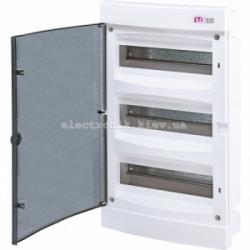 Щит внутренний распределительный ECM 36PT 36 модулей (прозрачная дверь) IP-40 ETI