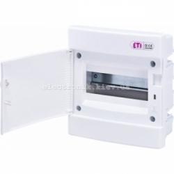 Щит внутренний распределительный ECM 8PO 8 модулей (белая дверь) IP-40 ETI