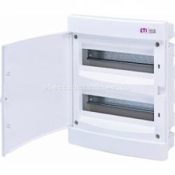 Щит внутренний распределительный ECM 24PO 24 модуля (белая дверь) IP-40 ETI