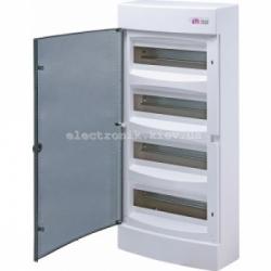 Щит наружный распределительный ECT 48PT 48 модулей (прозрачная дверь) IP-40 ETI