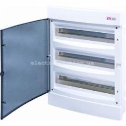 Щит внутренний распределительный ECM 3х18PT 54 модуля (прозрачная дверь) IP-40 ETI