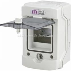 Щит герметический распределительный ECH-4G 4 модуля IP-65 ETI