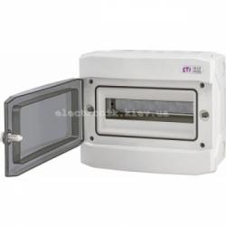 Щит герметический распределительный ECH-12PT 12 модулей IP-65 ETI