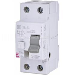 Реле диференциальное (УЗО) EFI6-2 16/0,03 тип AC (6kA) ETI