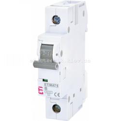 Авт. вимикач ETIMAT 6 1p B 25А (6 kA) ETI