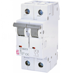 Авт. выключатель ETIMAT 6 2p B 10А (6 kA)