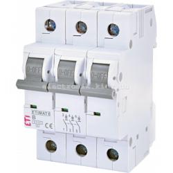 Авт. вимикач ETIMAT 6 3p B 6А (6 kA) ETI