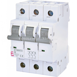 Авт. вимикач ETIMAT 6 3p B 50А (6 kA) ETI